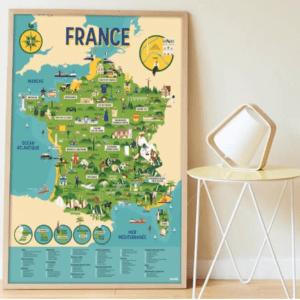 Poster géant autocollants France POPPIK