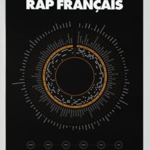 Affiche Compilation du rap français LA MAJORETTE A MOUSTACHE
