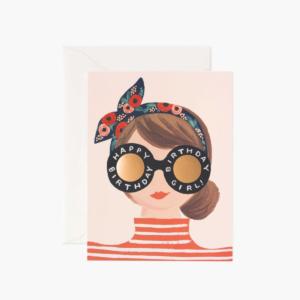 Carte Happy birthday headband RIFLEPAPER&CO